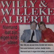 WILLY & WILLEKE ALBERTI - NIEMAND LAAT ZIJN EIGEN KIND ALLEEN  -  CD