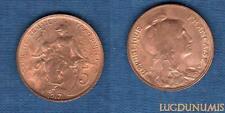 III République, 1871-1940 – 5 Centimes Daniel-Dupuis 1917 Etoile SPL FDC