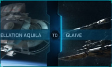 Star Citizen - Constellation Aquila to Esperia Glaive CCU (Ship Upgrade)