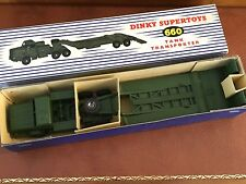 Vintage Dinky Supertoys / MIB / Thornicroft Mighty Antar Tank Transporter / 660