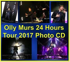 OLLY MURS 24 HRS HOURS TOUR 1300 PHOTO CD CONCERT LIVE SET 1 & 2 NOT PROMO