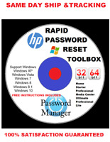Password Reset Recovery Disc for ALL Windows 7 8.1 10 Remove Passwords In 1 Min