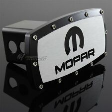 "DODGE MOPAR Hitch Cover Plug Cap 2"" Trailer Tow Receiver w/ ALLEN BOLTS DESIGN"