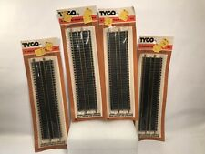 """Tyco HO Scale Lot 9""""  Straight Tracks  #417 - *New* 4 Tracks In Each"""
