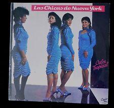 LAS CHICAS DE NUEVA YORK - CALOR TROPICAL- CAIMAN CLP 9026-  1987 - SEALED LP