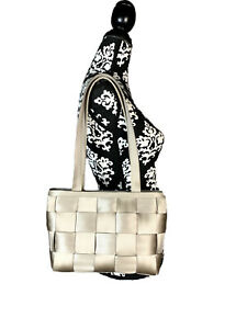 The Original Seatbelt Bag by Harvey's USA Made Tough Beige Shoulder Bag Purse