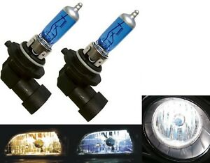 Halogen 9045 53W 5000K White Two Bulbs Fog Light Replacement Plug Play Lamp Fit