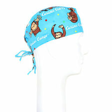 Curious George Theme Scrub Hat