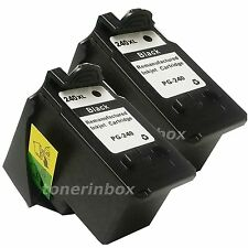 2 Pack PG240XL PG-240XL HY Black Ink Cartridge for Canon PIXMA MX459 MX472 MX479