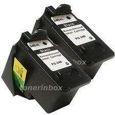 2 Pack PG240XL PG-240XL HY Black Ink Cartridge for Canon PIXMA MX459 MX472 MX479