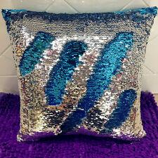 Magic Square Reversible Mermaid Sequin Cushion Cover Glitter Throw Pillow