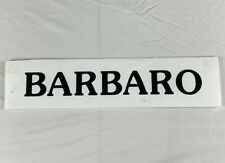 Authentic Vintage Rare Legendary Race Horse Barbaro Florida Derby Draw Card