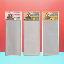 Tamiya Finishing Abrasives Sandpaper [Lite Set] (3 packs ,total 15pcs)