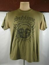 """Late 1980's Early 1990's Vintage """"Sublime"""" """"Long Beach Ca."""" Concert T-Shirt"""