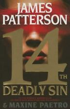 14th Deadly Sin-James Patterson-2015 Women's Murder Club-hardcover/dust jacket