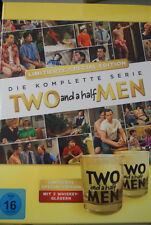 Two And A Half Men Komplettbox inkl. 2 Limited Whiskey Gläser 40 DVD Box NEU OVP