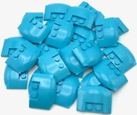 Lego 4x Dark Purple Wedge 4 x 6 x 2//3 Triple Curved Truck Roof NEW