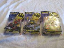 DC Comics Batman Zipline Joker Quick Fire Robin Battle Board Signed Jim Lee Lot