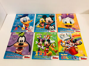DISNEY My First Smart Pad Books Only Set Of 6 EUC