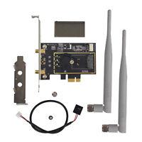 Intel NGFF/M.2 to Wireless Wifi Bluetooth  4.0 PCI-E Card Bracket 8260 8265 300M