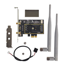 Intel NGFF/M.2 to Wireless Wifi Bluetooth  4.0 PCI-E Card for Dell Acer 300Mbps