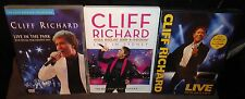 Cliff Richard LIVE - Here And Now, Live In Sydney & Live In The Park (DVDs)