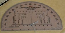 Ex MOD Army MILS R.A MK1 Semi Circular Protractor Orienteering Map Navigation