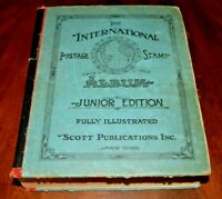 CatalinaStamps: Scott International Postage Stamp Album 1943 w/3400 Stamps, #D10