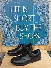 ARAVON by New Balance Casual oxford Black Leather Size 7 AA (narrow)