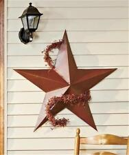 "36"" EXTERIOR DISPLAY GARDEN ACCENT RUSTIC DIMENSIONAL BARN STAR FOR GOOD FORTUNE"