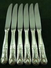 6 Nice Vintage  EPNS Dessert Side Knives kings pattern silver plated #2