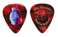Billy Idol Billy Morrison Signature Red Guitar Pick - 2015 King & Queens Tour