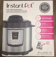 instant pot 6 qt 6 In 1 Electric Pressure Cooker
