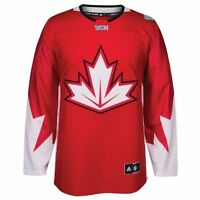 Men's Canada World Cup of Hockey Premier Jersey Adidas NHL Red - NEW CLEARANCE