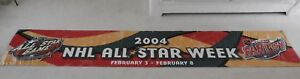 2004 NHL All-Star Game (in Minnesota/Wild) 12' x 2' Vinyl Airport Banner - Rare!
