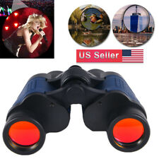 60X60 Zoom Optical Binoculars Day/Night Vision Travel Outdoor Hunting Telescope