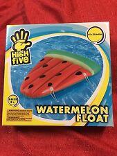 "H2WHOA Watermelon Slice Swimming Pool Beach Inflatable 45""X36"" Float Summer Fun"