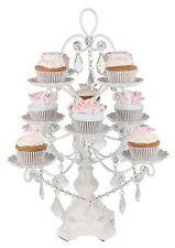 12-Piece CUPCAKE STAND Metal Dessert Holder Wedding Event Party Display Tower