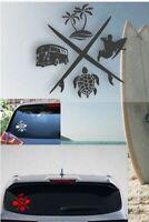 Surf 4 Life Sticker Vinyl Decal