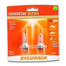 Sylvania SilverStar Ultra Low Beam Headlight Bulb for Volvo S40 S60 XC70 S70 pq