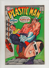 Plastic Man #5 - Plastic Man Dumbell Cover - (Grade 8.0) 1967