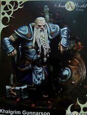 Scale 75  75mm Khalgrim Gunnarson Dwarf King