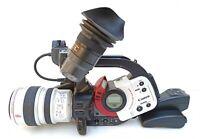 Canon DM-XL1S minidv digital video camcorder 3CCD pal canon lens xl 5.5-88mm is