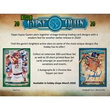 TAMPA BAY RAYS 2020 TOPPS GYPSY QUEEN BASEBALL 5 BOX HALF CASE BREAK #11
