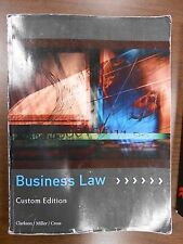 Business Law Custom Edition  (12th Edition) - by Clarkson/Miller/Cross