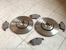 ROVER 75   MG ZT   99-TWO FRONT VENTED BRAKE DISCS AND A SET OF BRAKE PADS L&R