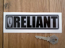 "RELIANT Scimitar SS GTE GT GTC Oblong Style Car STICKERS 6"" Pair"