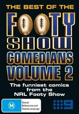 THE BEST OF THE FOOTY SHOW COMEDIANS VOLUME 2 DVD BRAND NEW SEALED FREE POST!