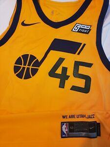 Utah Jazz #99 Jae Crowder Statement Gold Swingman Jersey