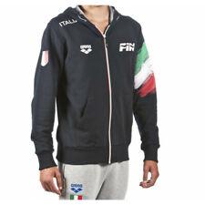 5872 ARENA FIN FEDERAZIONE ITALIANA NUOTO ITALIA ZIP FELPA CAPPUCCIO 001012701
